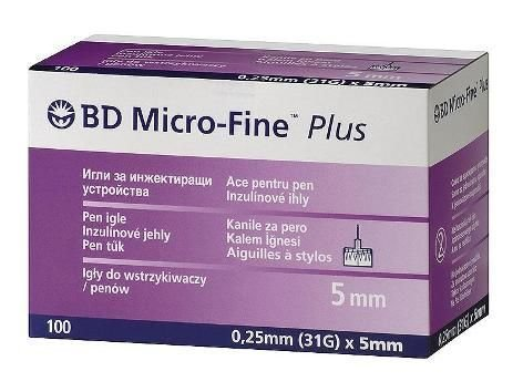 Игли за инсулинова писалка BD Micro-Fine+ 31G 5mm x100